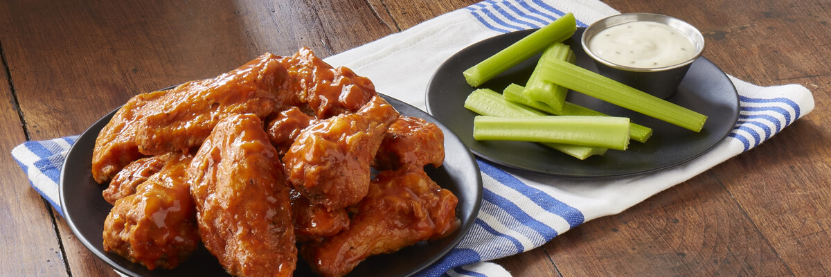 Low carb Zaxby's, traditional wings